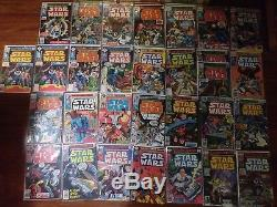 Star Wars Vintage Marvel comic book lot 70's and 80's complete 1-107+ annuals+