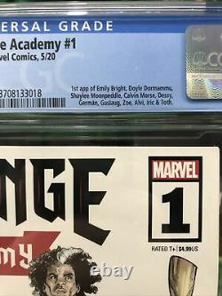 Strange Academy 1 Cgc 9.8 A Cover Lots of first appearances Emily Bright Doyle