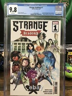 Strange Academy 1 Cgc 9.8 Cover A First Print Lots of First Appearances