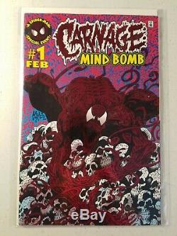 THE Carnage Collection Marvel 34-book Lot ASM 430, Max Carnage, Mind Bomb & MORE