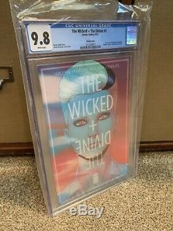 THE WICKED AND THE DIVINE #1 CGC 9.8 Variant Cover Image Comics Lots Of 1st App