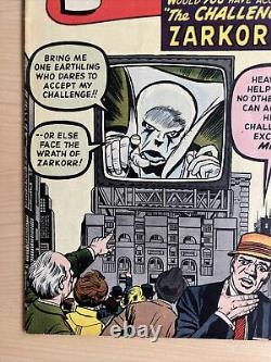 Tales Of Suspense #35 Nov 1962 The Challenge Of Zarkorr Lots Of Pics Scarce