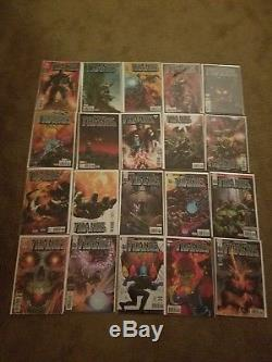 Thanos 1-18 comic book lot, cosmic ghost rider. Thanos 13. Variants. Mint