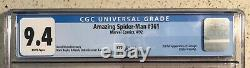 The Amazing Spider-Man 361, 362, & 363 Lot CGC 9.6 1st appearance of Carnage