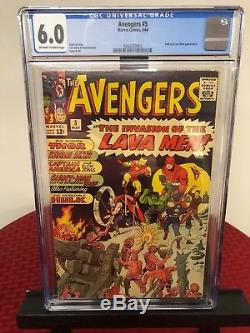 The Avengers 2, 3, 4 & 5 (CGC Graded) First Silver Age Captain America