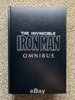 The Invincible Iron Man Volume 1 Omnibus OOP Lots of Photos/Great shape