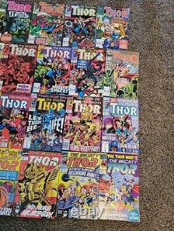The Mighty Thor Lot of 27 (400-439) Full List Inside Lots More Thor in Store