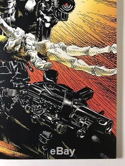 The Punisher 100 Michael Golden Cover Low Print Run NM-/NM 1995 Lots of photos