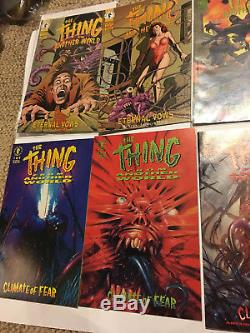 The Thing From Another World Comic Book Omnibus John Carpenter Lot Set