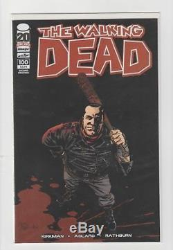 The Walking Dead Issue 100 set (4 issue variant lot) Signed by Kirkman