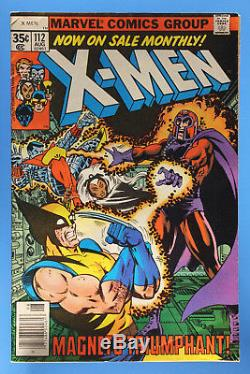 The X-Men, Lot of 13, Issues #99,102,103,108,109,111-113,121,127,136,137,143