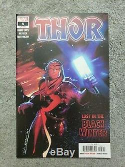 Thor #5 (2020) Cover A 1st print 1st Black Winter Cates NM- lots of pictures