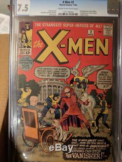 UNCANNY X-MEN LOT OF 65 GRADED BOOKS #2 to 66 COMPLETE SILVER AGE HIGH GRADE