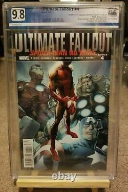 Ultimate Fallout 4 PGX 9.8 1st app Miles Morales (not cgc) LOTS OF PICS