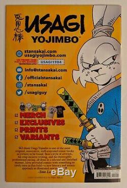 Usagi Yojimbo #10 Peach Momoko 2020 SDCC Variant- In Hand Lots Of Pictures