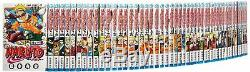Used MANGA NARUTO Comic Book Vol. 1-72 lot ALL Complete set Japanese Jump Comics