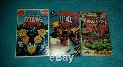 VINTAGE SILVER, BRONZE and COOPER AGE LOT OF 116 COMIC BOOKS Lots Of Key Issues