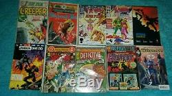 VINTAGE SILVER, BRONZE and COOPER AGE LOT OF 50 COMIC BOOKS Lots Of Key Issues
