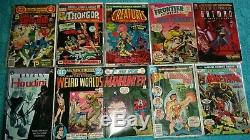 VINTAGE SILVER, BRONZE and COOPER AGE LOT OF 60 COMIC BOOKS Lots Of Key Issues