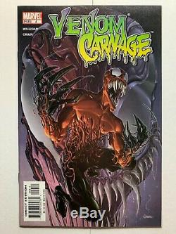 Venom Carnage 1-4 Full Series (Marvel, 2004) First Toxin Lots of photos
