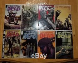 Walking Dead # 1-12,14,15,16,17-163 Lot of 8, Early Investment Key Issues9.6+-9.8
