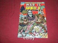 War is Hell #9 marvel 1974 bronze age 5.5/fn- comic! Lots of keys up! See store