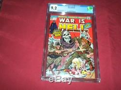 War is Hell #9 marvel 1974 bronze age CGC 9.2 comic! Lots of keys up! See store
