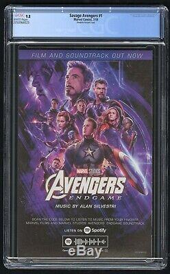 War of the Realms New Agents of Atlas #1 CGC 9.8 (Marvel 7/19) lots of 1st apps