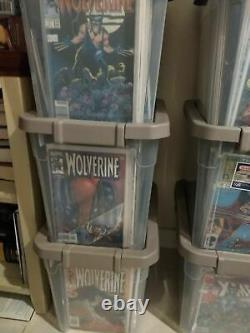 Wolverine 1 to 300 Lot Run with lots of Duplicates 5500$$ Value