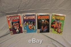 Wolverine Limited Edition Lot (1-4)