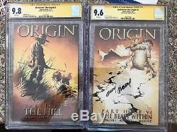 Wolverine The Origin # 1 & #3 SS CGC 9.8 Signed By Kubert LOTS OF CGC LISTED