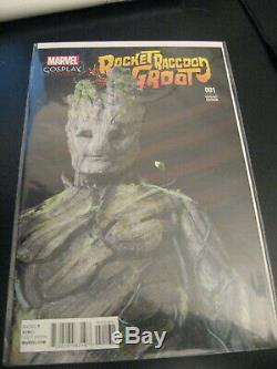 Wow! 18 ROCKET RACCOON AND GROOT 1-10 - with6 #1 VARIANTS! + Lots More Var's