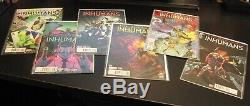 Wow! 32 UNCANNY INHUMANS/'15 1-13 + Ann 1 with8 #1 VARIANTS! + LOTS More VAR's