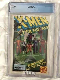 X-MEN #1 1991 Lot 4 Variant Cover All CGC 9.8 NM Jim Lee First Acolytes