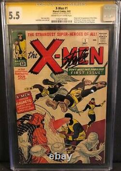 X-MEN #1 #66 COMPLETE SIGNED COLLECTION CGC SS #1-#10 Stan Lee Vol 1 (1963)
