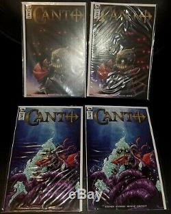 (lots Of 36 Books) Canto Mega Lot #1-6 Hot Indy Idw Comics Free Shipping